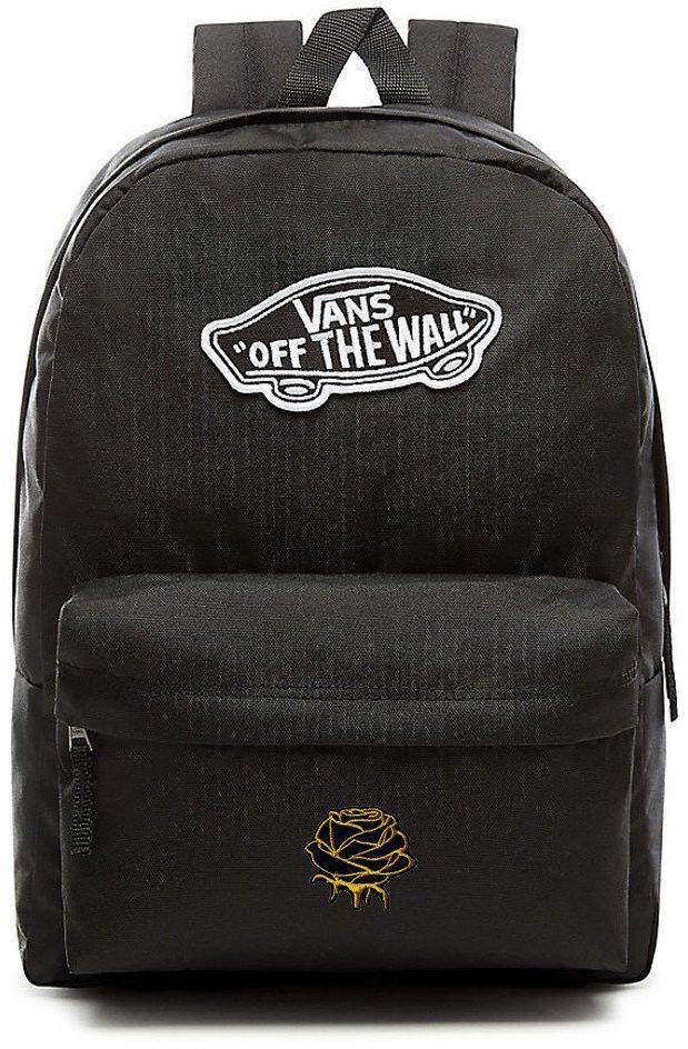 Plecak VANS Realm Backpack Custom Gold Rose róża - VN0A3UI6BLK