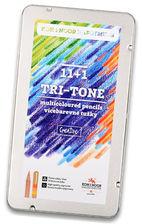 KIN kredki tri-tone trójkolorow 11 kol 3442