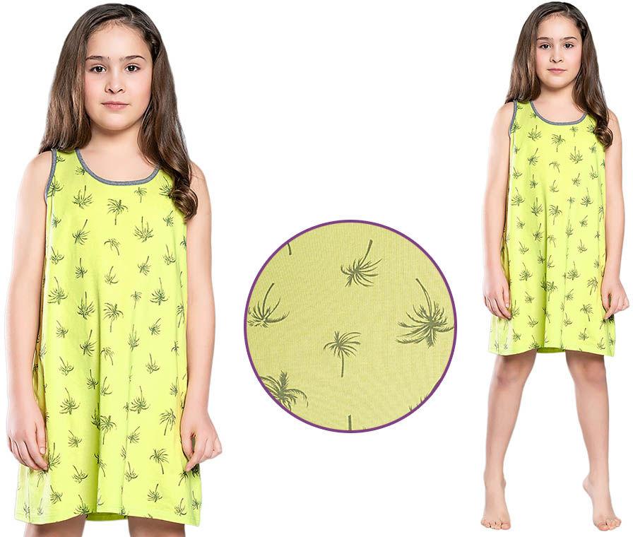 Koszula nocna MADERA: limonka