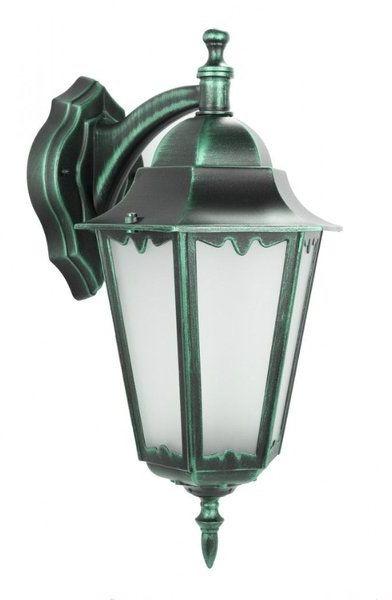 Ozdobny kinkiet zewnętrzny Retro Classic II K 3012/1/DH zielony