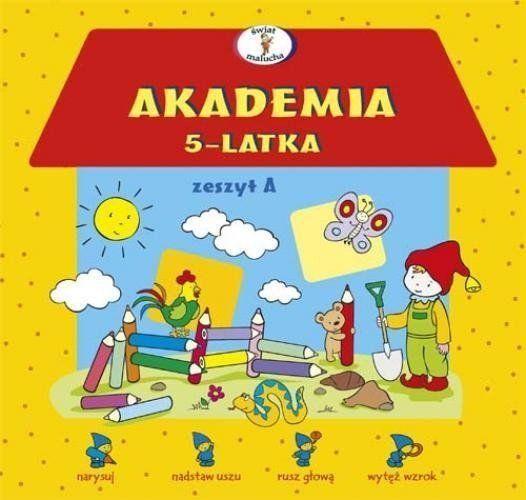 Akademia 5-latka zeszyt A - Dorota Krassowska