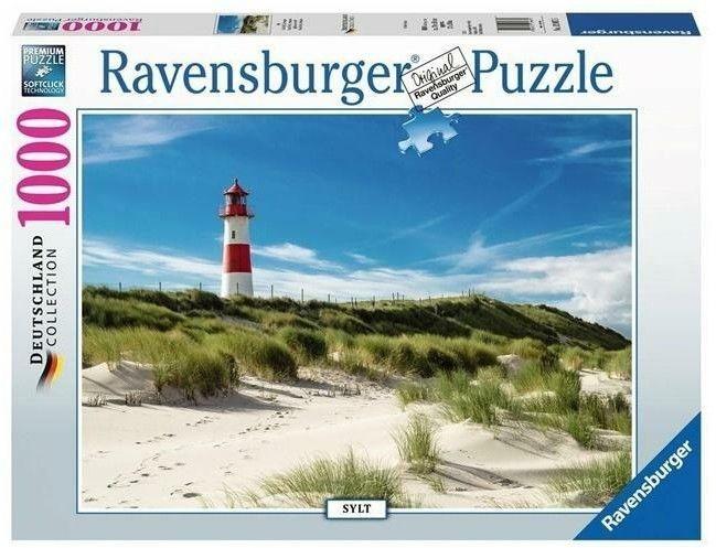 Puzzle Ravensburger 1000 - Wyspa Sylt, Sylt Island