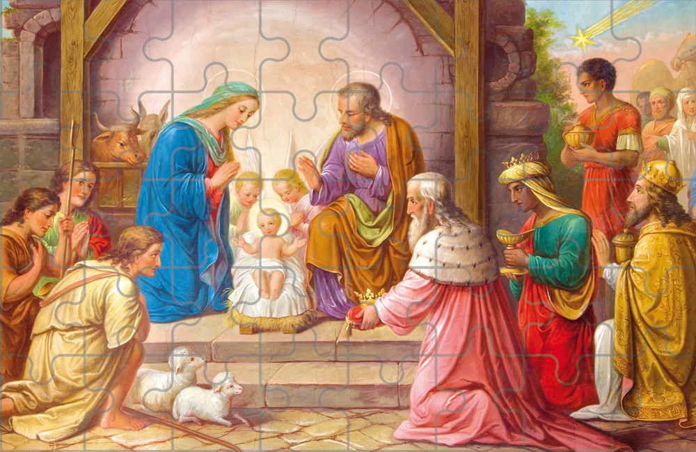 Puzzle bożonarodzeniowe