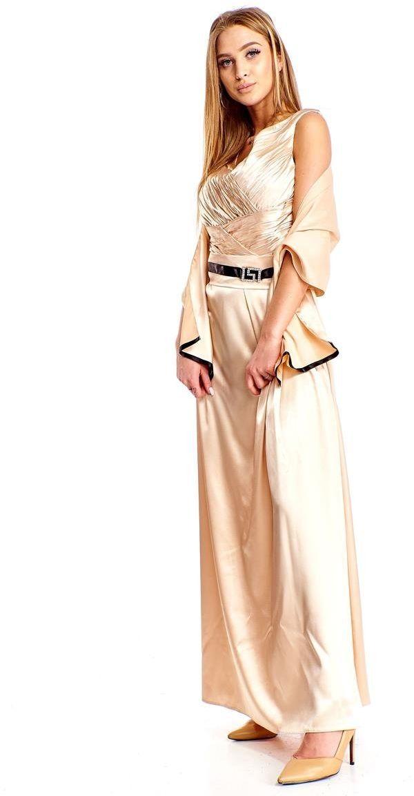 FSU733 Suknie wizytowe Sukienka SZAMPAN