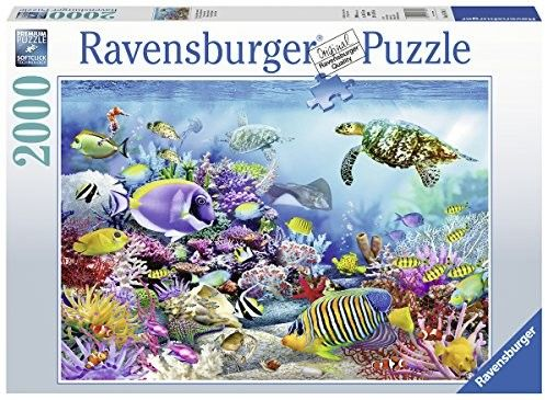 Puzzle Ravensburger 2000 - Rafa koralowa, Coral Reef Majesty