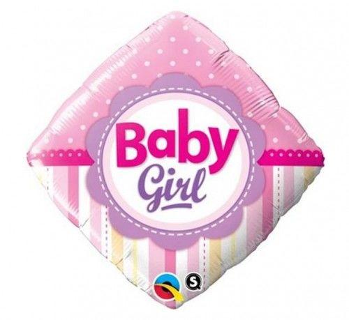 "Balon foliowy 18"" QL Baby Girl"