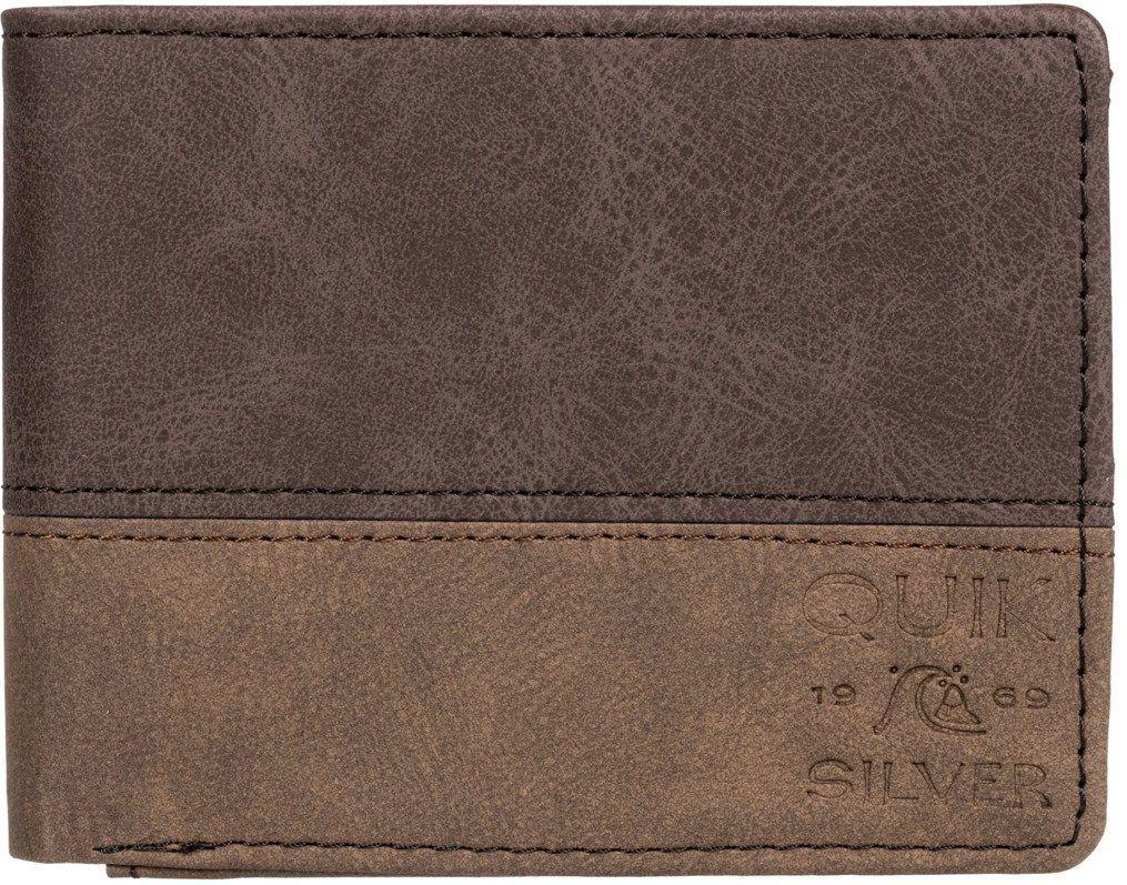 portfel męski QUIKSILVER COUNTRY BREEZE WALLET Chocolate Brown - CSD0