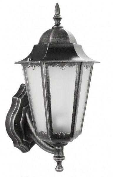 Ozdobny kinkiet zewnętrzny Retro Classic II K 3012/1/DH G srebrny