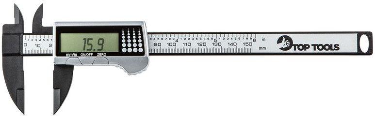 Suwmiarka cyfrowa 150 mm kompozyt włókna węglowego 31C621