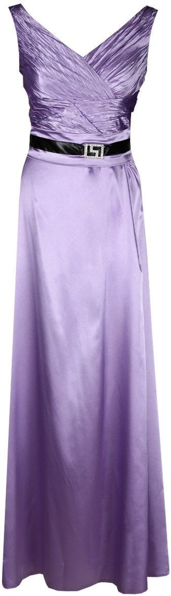 FSU733 Suknie wizytowe Sukienka FIOLET