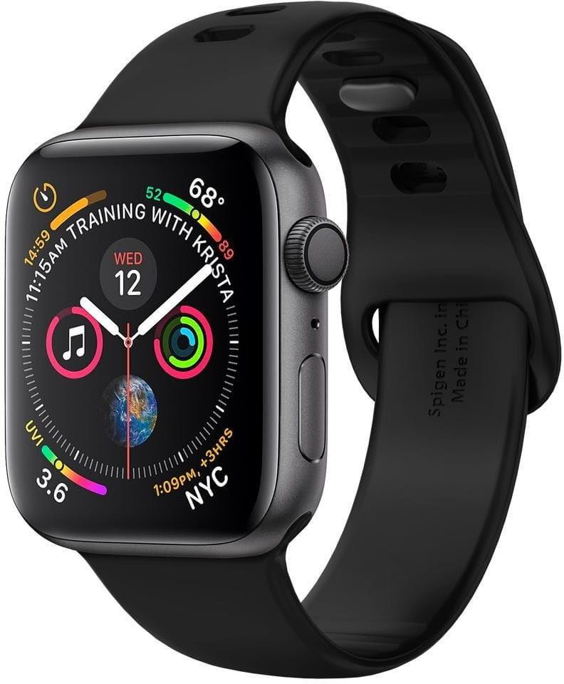 Pasek Spigen Air Fit Band Apple Watch 1/2/3/4/5 (38/40mm) Black