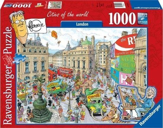 Puzzle Ravensburger 1000 - London - Frans Le Roux