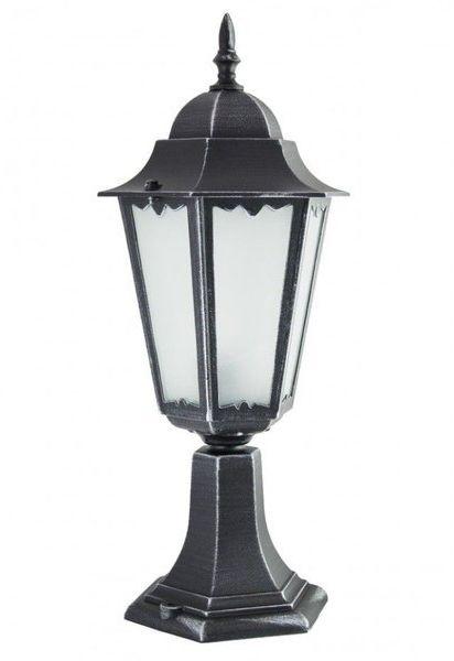 Lampa zewnętrzna kinkiet Retro Classic II K 4011/1 H srebrny