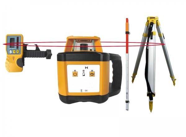 Niwelator Laserowy Obrotowy GEO200 (Zestaw)