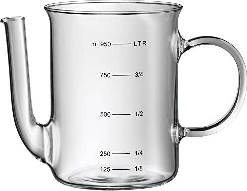 WMF Dzbanek do redukcji tłuszczu, 0,5 l, z żaroodpornego szkła