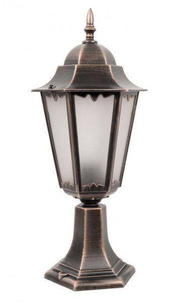 Lampa zewnętrzna kinkiet Retro Classic II K 4011/1 H miedź