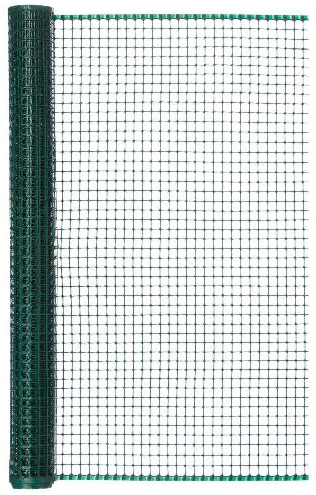 Siatka plastikowa 1 x 5 m zielona MAXISQUARE NORTENE