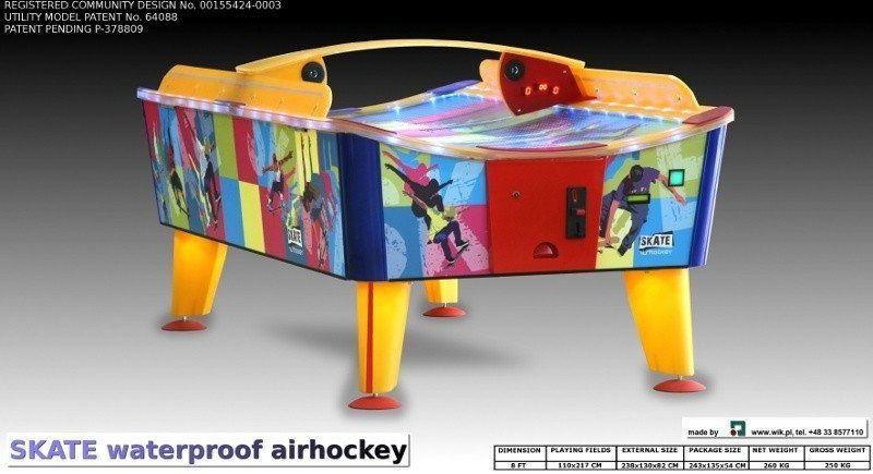 Air hockey Skate Outdoor