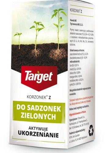Korzonek z  ukorzeniacz do sadzonek zielonych  30 ml target