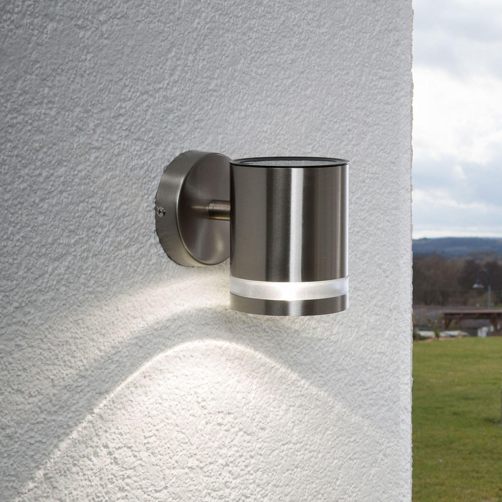 Solarna lampa ścienna SALMA z LED