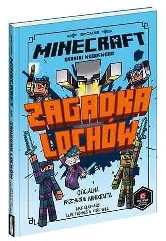 Zagadka lochów. Minecraft - Nick Eliopulos