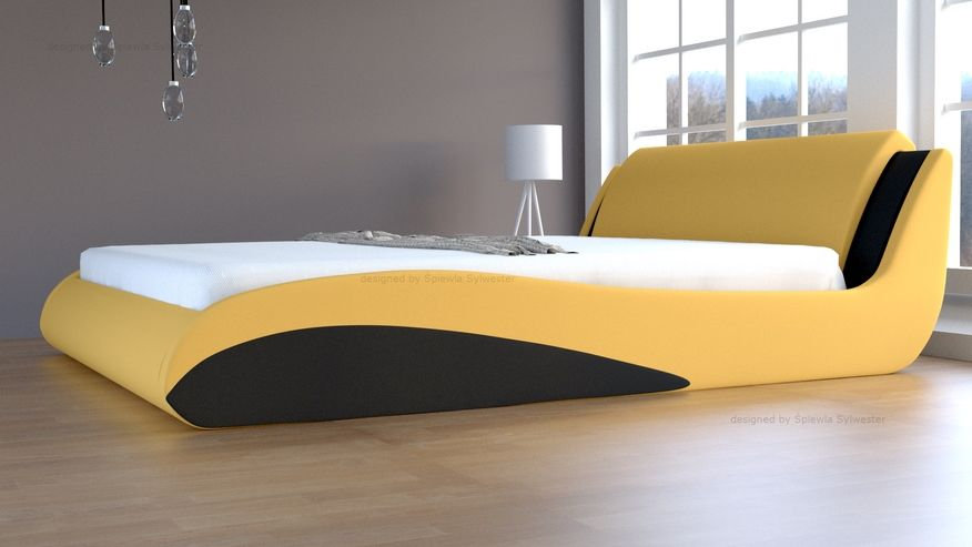Łóżko Stilo-2 Lux Standard skrzynia na pościel
