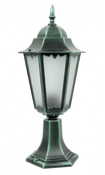 Lampa zewnętrzna kinkiet Retro Classic II K 4011/1 H zielony
