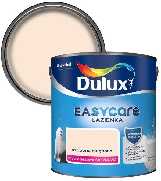 Farba Dulux EasyCare Łazienka ozdobna magnolia 2,5 l