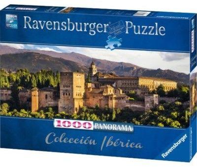 Puzzle Ravensburger 1000 -Warownia Alhambra, Alhambra story