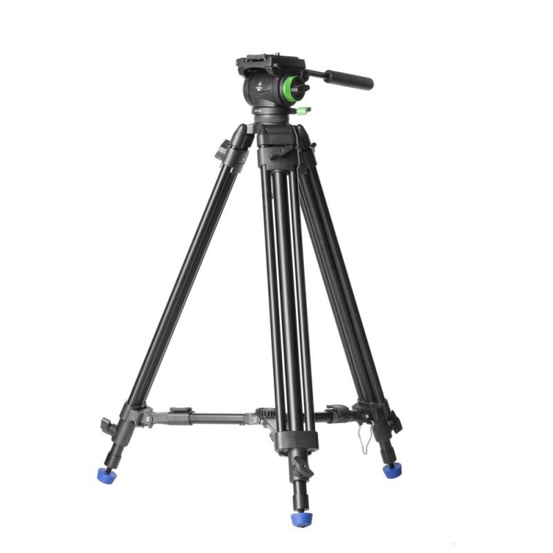 Genesis Gear CVT-10 KIT - zestaw statyw video z głowicą olejową VF-6.0 Genesis Gear CVT-10 KIT