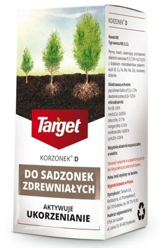 Korzonek d  ukorzeniacz do sadzonek zdrewniałych  30 ml target