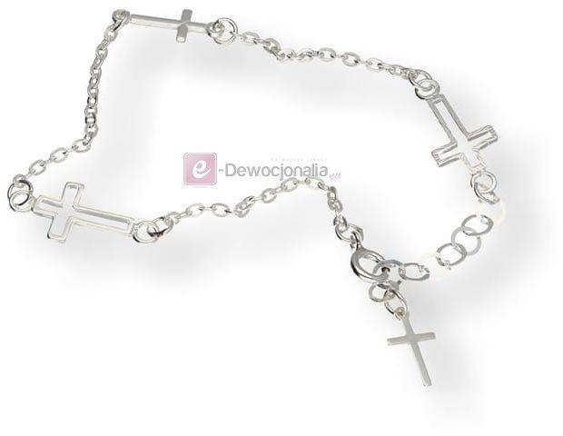 Bransoletka srebrny CELEBRYTKA- AG 2,4 gr