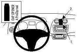 ProClip do Seat Ibiza 09-15