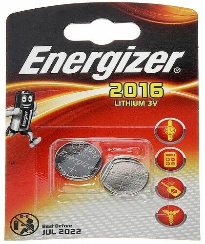 BATERIA LITOWA BAT-CR2016*P2 ENERGIZER