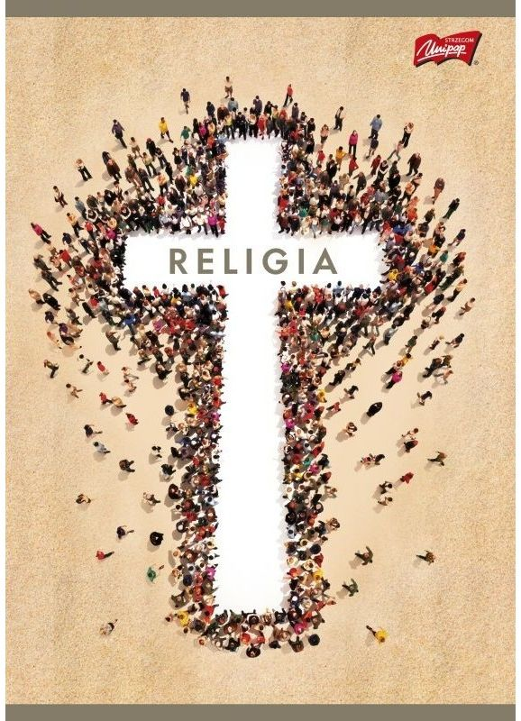Zeszyt A5 60k kratka Religia Unipap 3036
