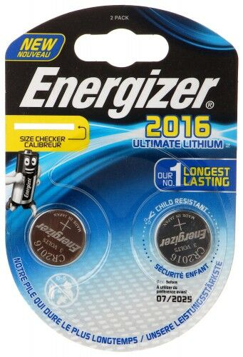 BATERIA LITOWA BAT-CR2016-LITHIUM*P2 ENERGIZER