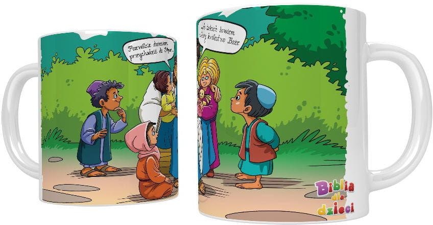 Kubek religijny Pozwólcie dzieciom przychodzić...