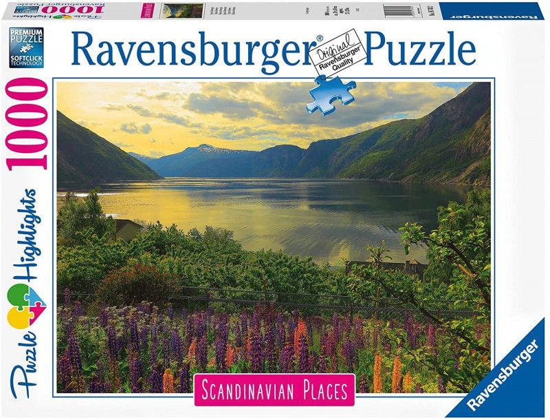 Puzlzle 1000 elementów Skandynawskie Krajobrazy 2 (GXP-765392)