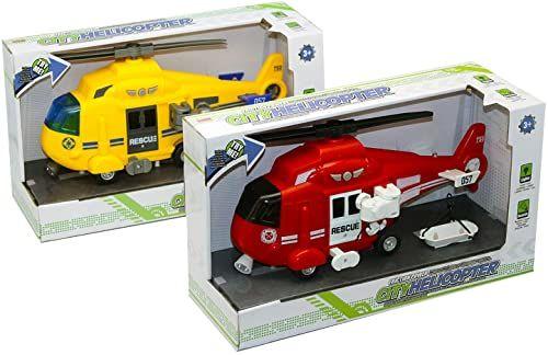 Kidz 439631 Helikopter Pronto Intervento, wielokolorowy