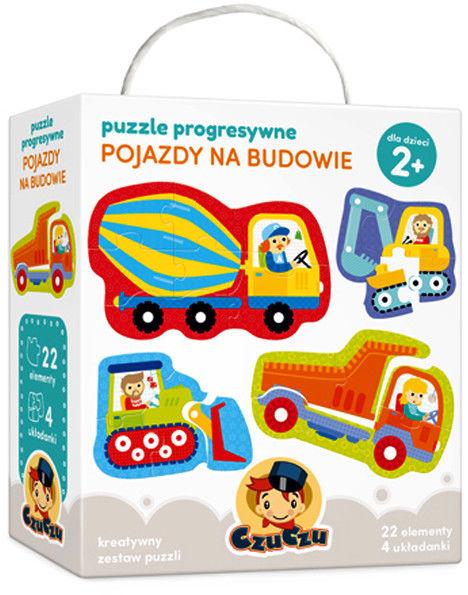 CzuCzu - Puzzle progresywne Pojazdy na Budowie 0074
