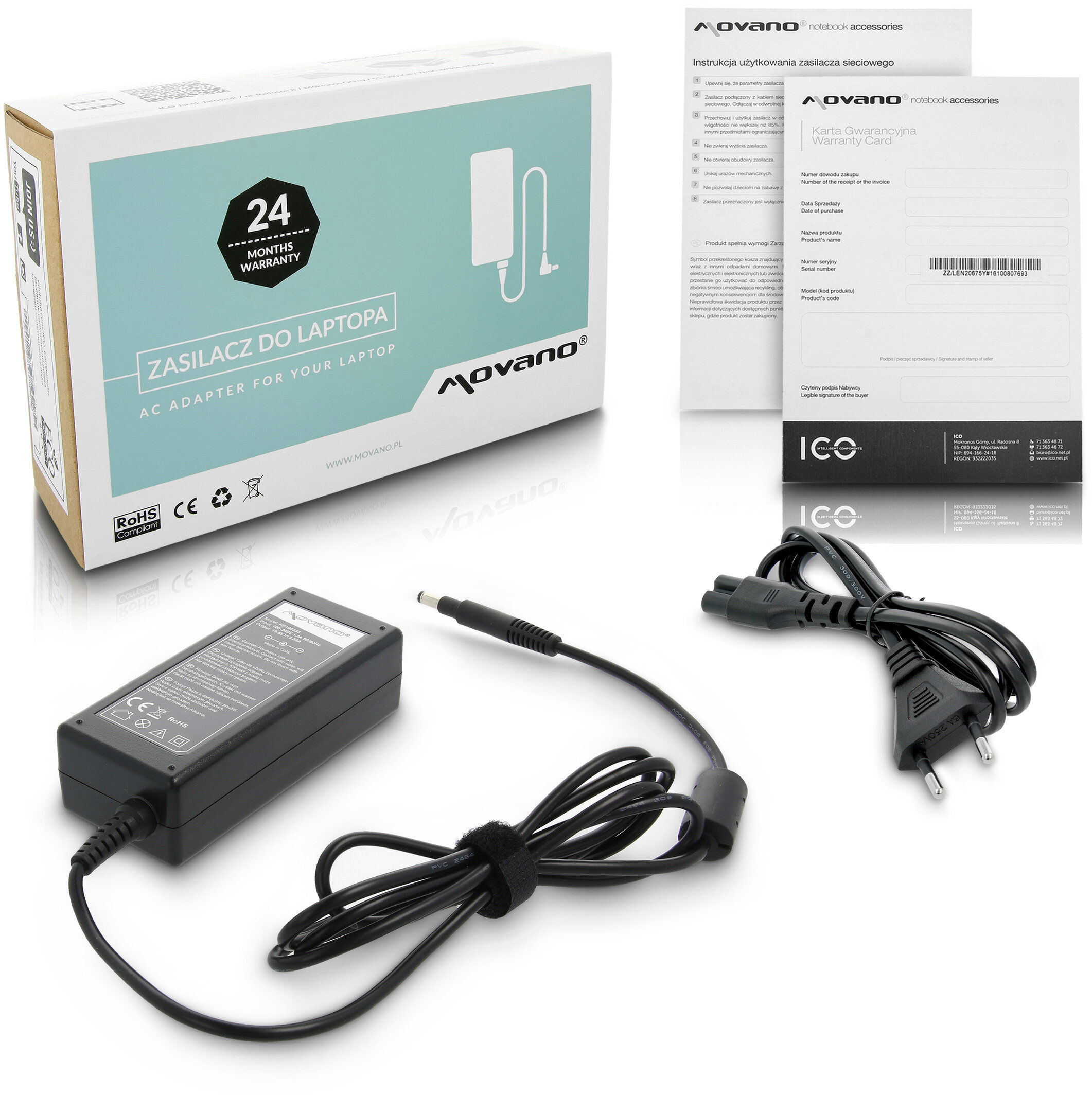 Zasilacz ładowarka do HP Envy Ultrabook 13-1006tx 13-1005tx