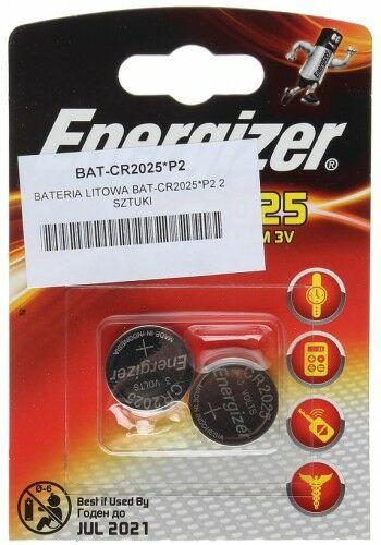 BATERIA LITOWA BAT-CR2025*P2 ENERGIZER