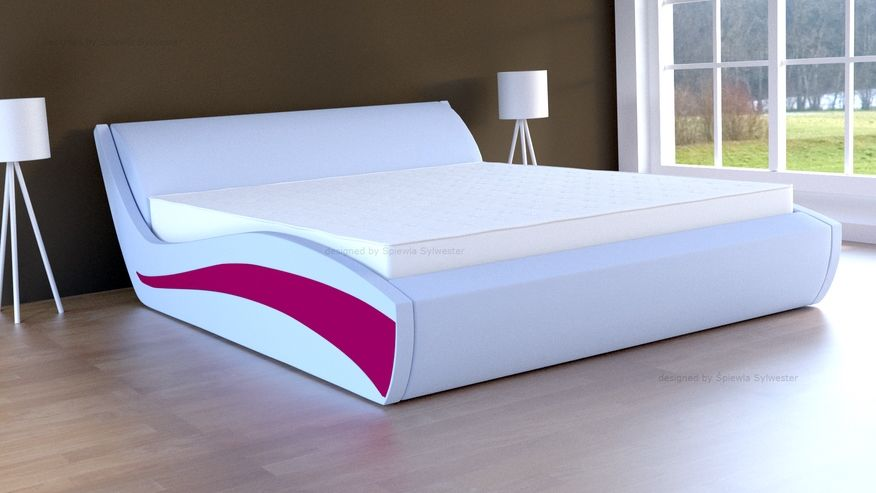 Łóżko Samba skrzynia na pościel