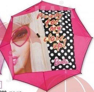 Parasolka barbie twarz automat
