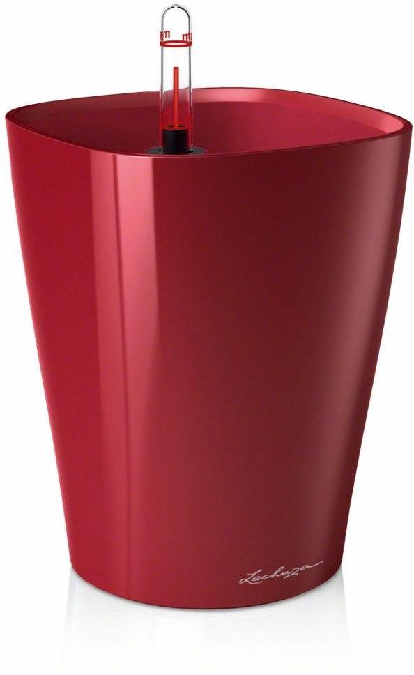 Donica lechuza deltini - scarlet red, połysk - czerwony
