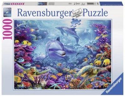 Puzzle Ravensburger 1000 - Niesamowity podwodny świat, Magnificent Underwater World