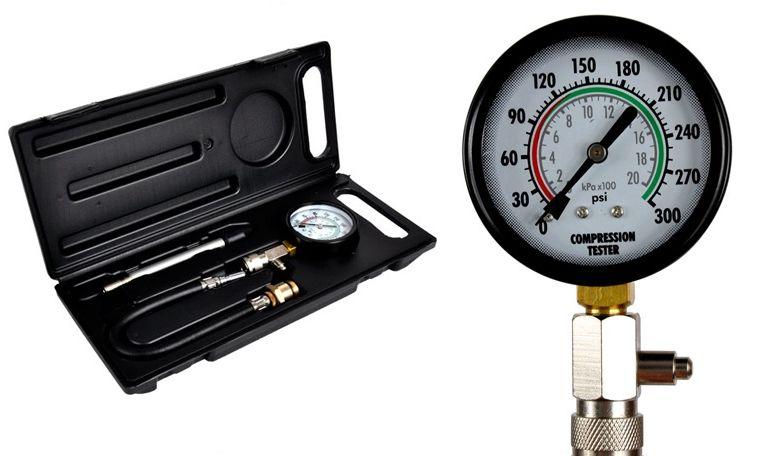 Tester ciśnienia sprężania próbnik miernik benzyna