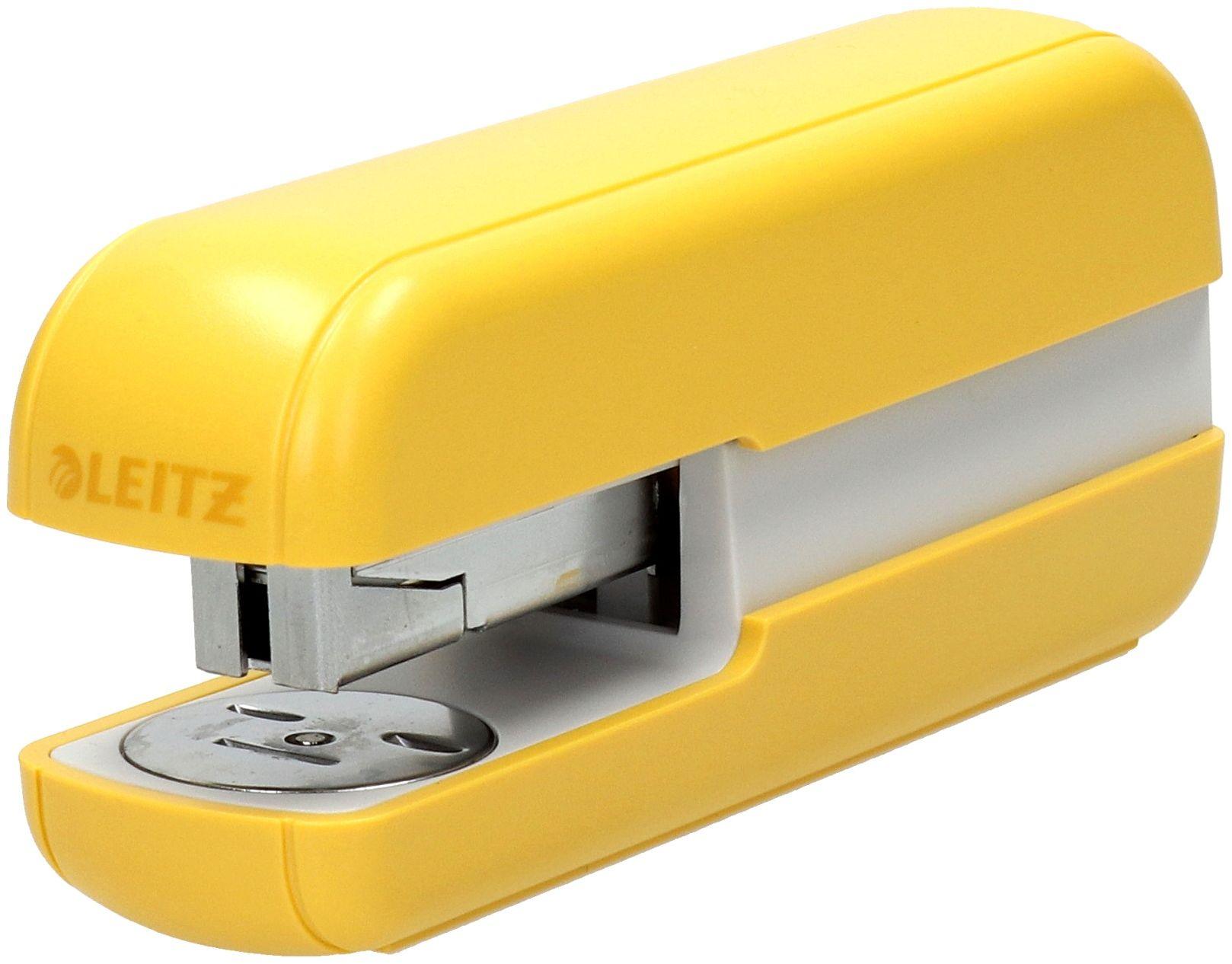 Zszywacz 30k żółty Leitz Cosy 55670019