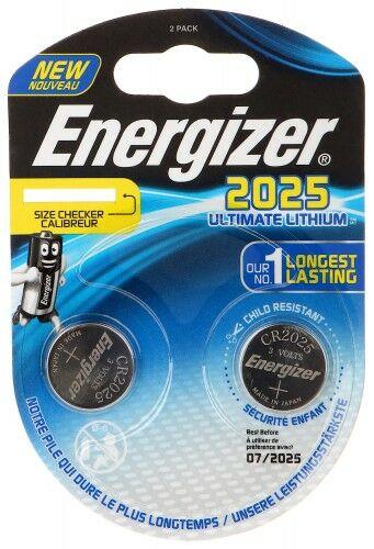 BATERIA LITOWA BAT-CR2025-LITHIUM*P2 ENERGIZER