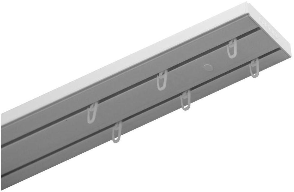 Szyna sufitowa 2-torowa 180 cm z akcesoriami PVC Gardinia